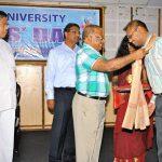 Babu Receives Best Teacher Award