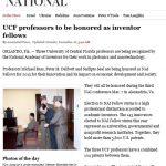 Washington Post, Associated Press Feature UCF Inventors