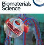 Dr. Seal Research on the Cover of the Biomaterials Science
