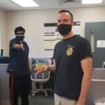 Congratulations to Craig Neal: PhD Celebration in this Pandemic with all precautions