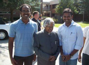 President A P J Kalam visit UCF_Lab