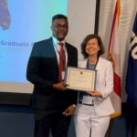 Graduate Student Takes First Place at Statewide Competition