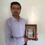 Alumnus Recognized by Thermal Spray Society