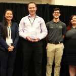 Florczyk Named Undergraduate Mentor of the Year