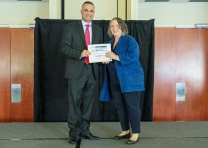 Omar Ahmed won the award at the UCF 3MT PhD research competition