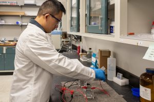 UCF Researchers Work to Design Zero-Emission Fuel Sources