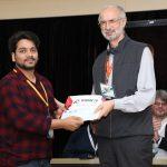 """Deepak Pandey, Ph.D. Scholar, Received """"Young Researcher Award"""" at ICNAN'2019"""
