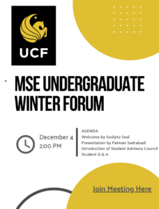 2020 Fall MSE UG Forum Q & A